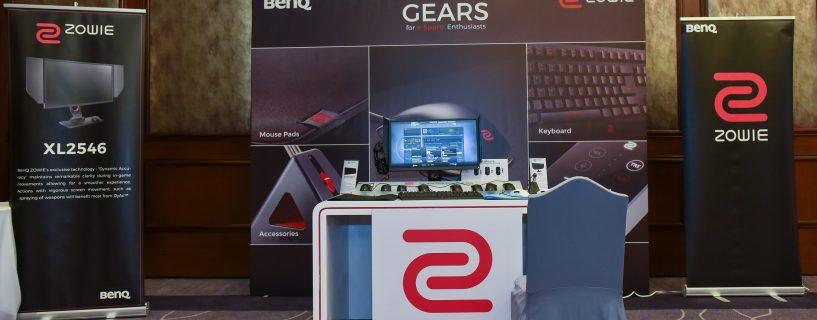 BenQ تطلق شاشة كومبيوتر ZOWIE XL2546 المخصصة للرياضات الإلكترونية، و لوحة مفاتيح Celeritas ll لتجربة لعب متطورة!