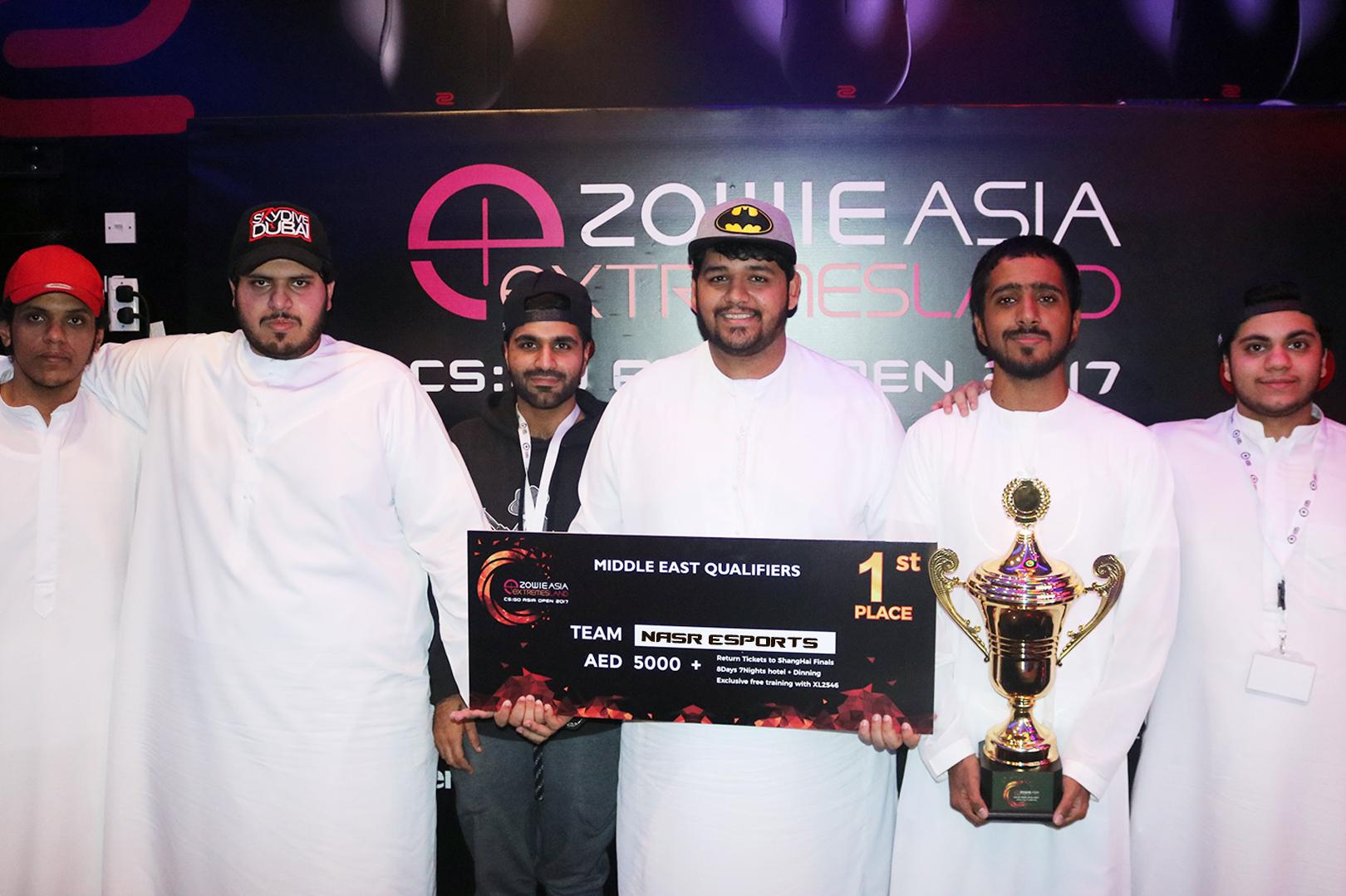 Photo of الإعلان عن الفائزين في بطولة eXTREMESLAND في الشرق الأوسط للعبة CS:GO لعام 2017