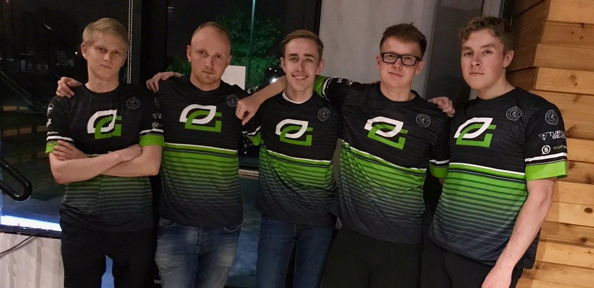 OpTic Gaming Dota 2 squad ppd
