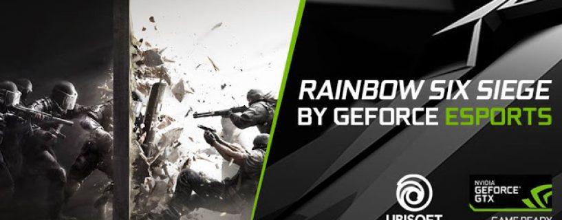 فريق 5RaaaaGY يتوج كأفضل فرق Rainbow Six Siege في الوطن العربي في بطولة Geforce Esports