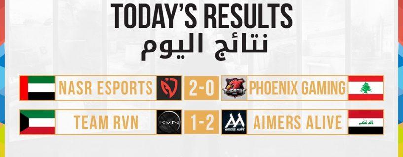 فريقا Nasr Esports و Aimers Alive يتألقان في تصفيات الوطن العربي الإقليمية لبطولة WCA 2017 في CS:GO