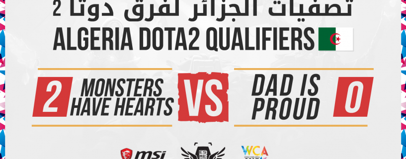 Algerian teams join the WCA 2017 MENA regional finals in Dota 2