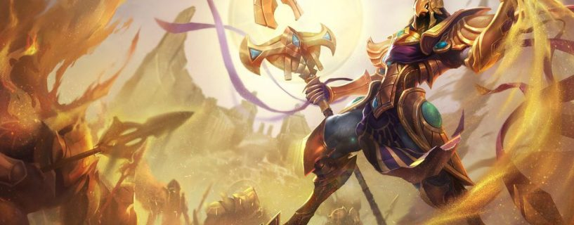 Azir on the way to changes in League of Legends