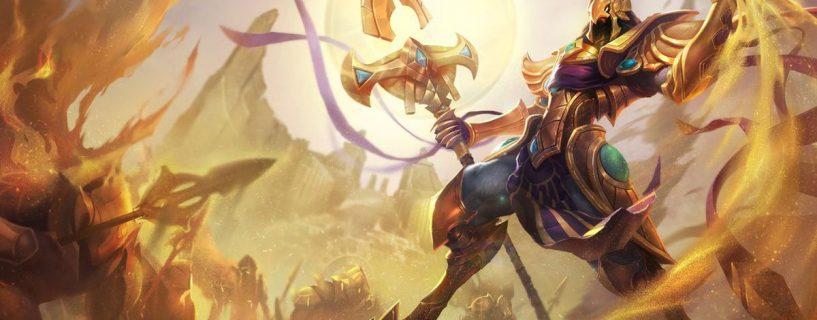 البطل Azir في طريقه إلى التغيير في League of Legends