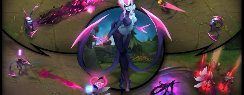 Evelynn and her new abilities in League of Legends