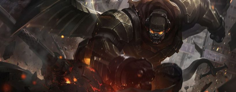Bramble Vest on the way to power changes in League of Legends