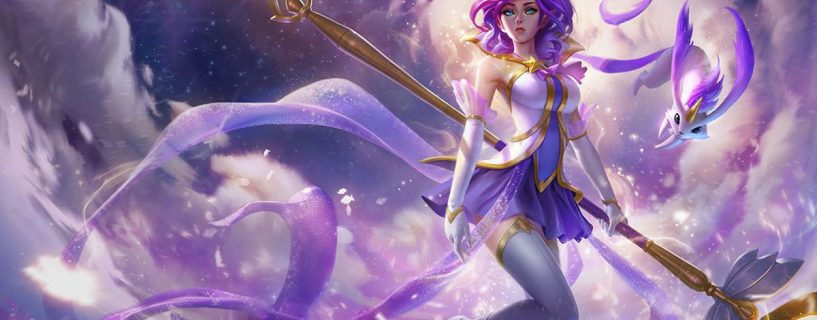 Janna on the way to change in League of Legends