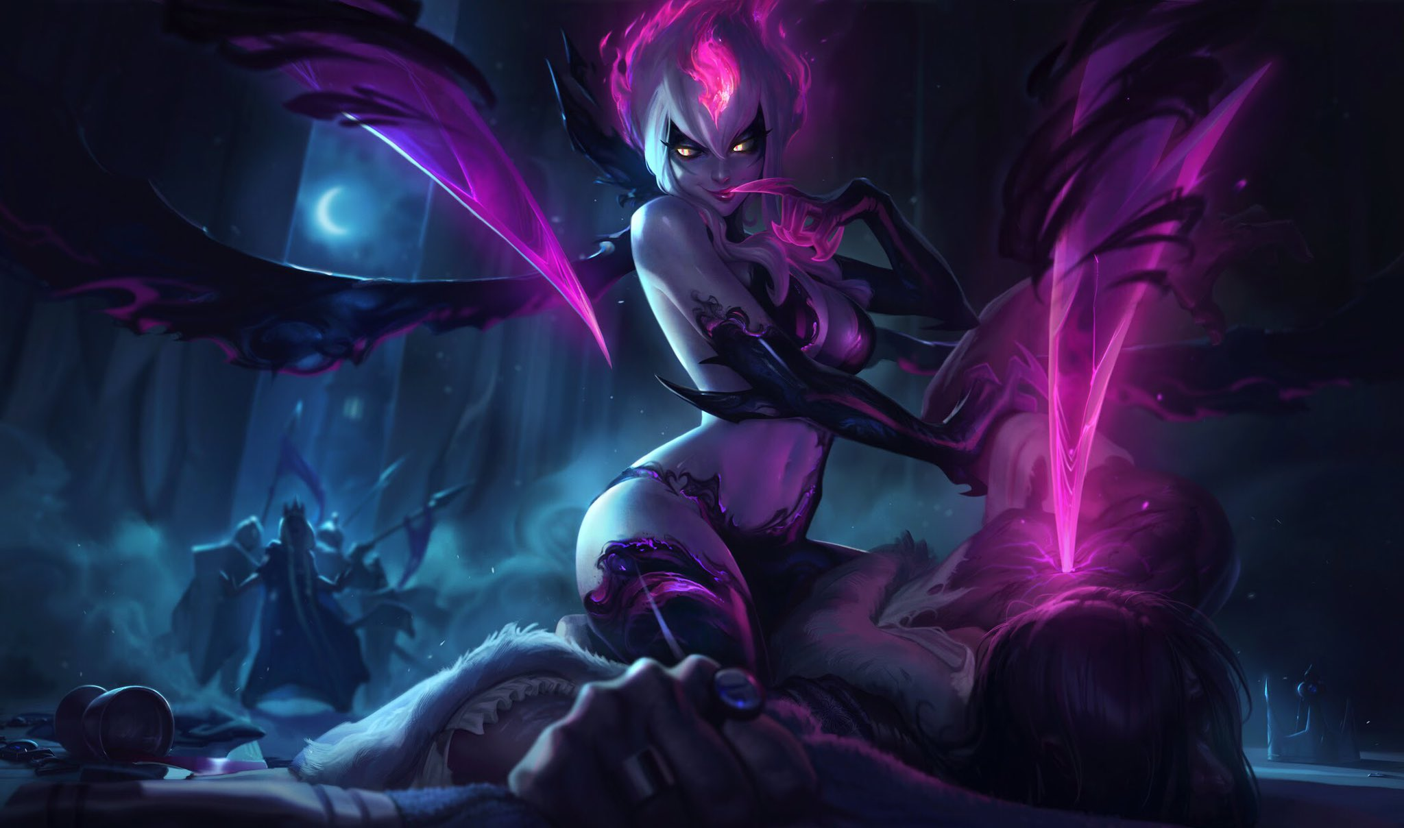 Photo of Evelynn on the way to major update in League of Legends