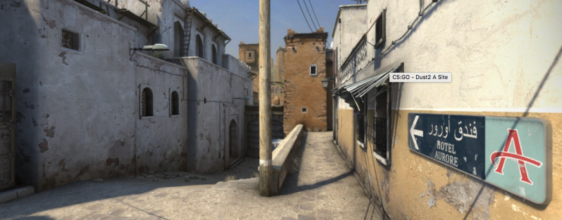 Counter-Strike famous Dust 2 map gets a fresh new coat of paint