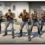 CSGO Counter Strike Dust 2 map