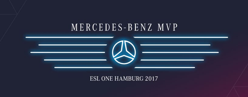 Best Dota 2 player at ESL One Hamburg is walking out with a new Mercedes