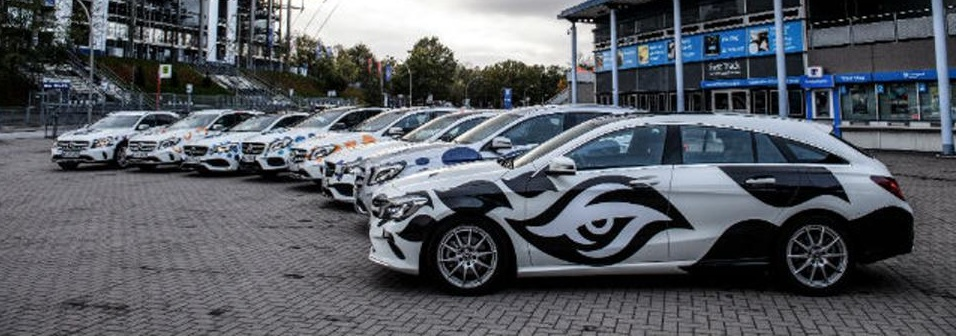 Photo of See all the fancy cars for ESL One Hamburg 2017 teams