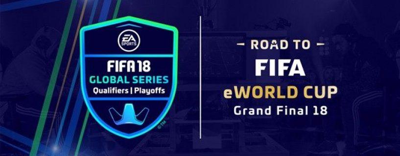 منافسات FIFA تعود من جديد مع بطولة FIFA 18 Global Series العالمية