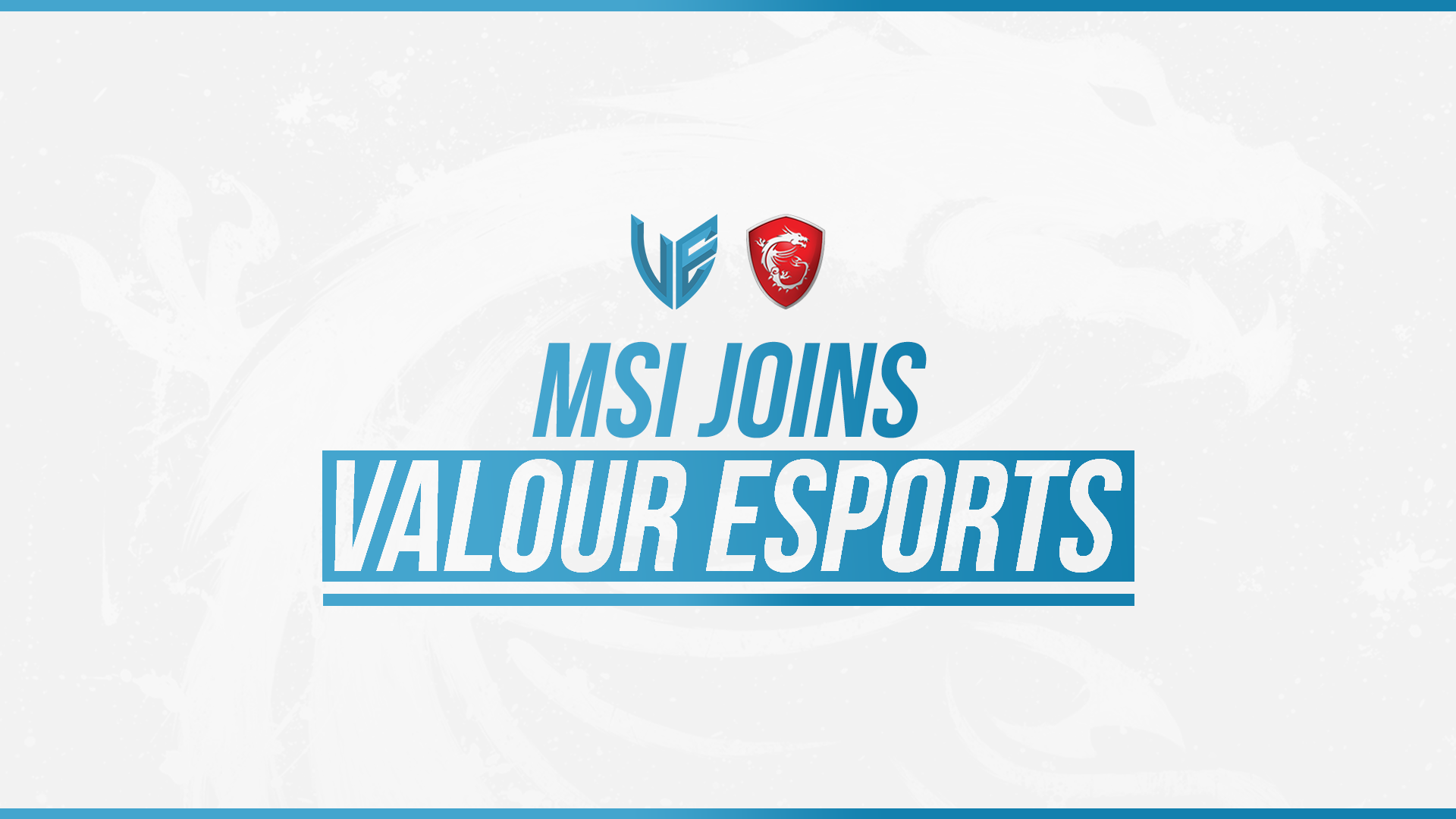 Photo of MSI is Announcing to sponsor the Middle East eSport Team, Valour eSports