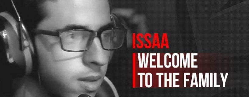 اللاعب الأردني ISSAA ينضم رسمياً لفريق أوروبي معروف في منافسات CS:GO