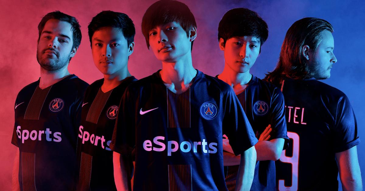 League of Legends Paris Saint-Germain Esports