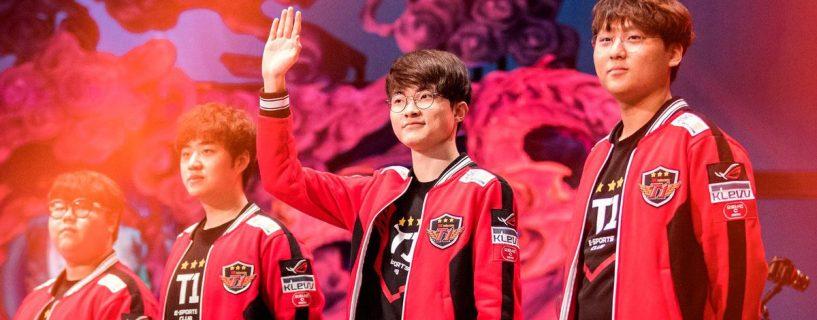 فريق SK Telecom T1 يصل للمرة الثالثة على التوالي لنهائي بطولة العالم League of Legends World Championship