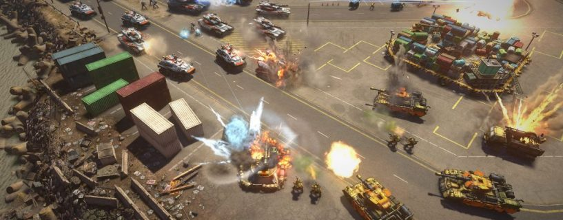 Is there a new Command & Conquer Generals game in the work at EA?