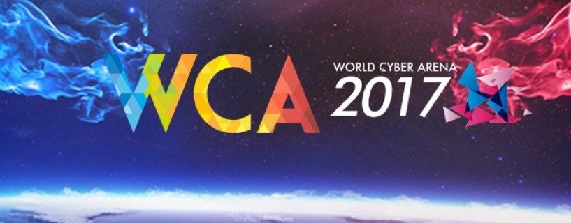 WCA World Cyber Arena 2017 finals WCA 2017