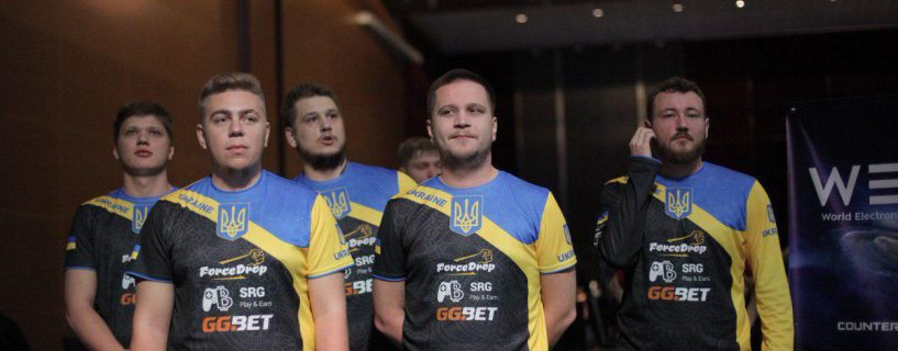 Team Ukraine take the top seed for the World Finals at WESG Europe