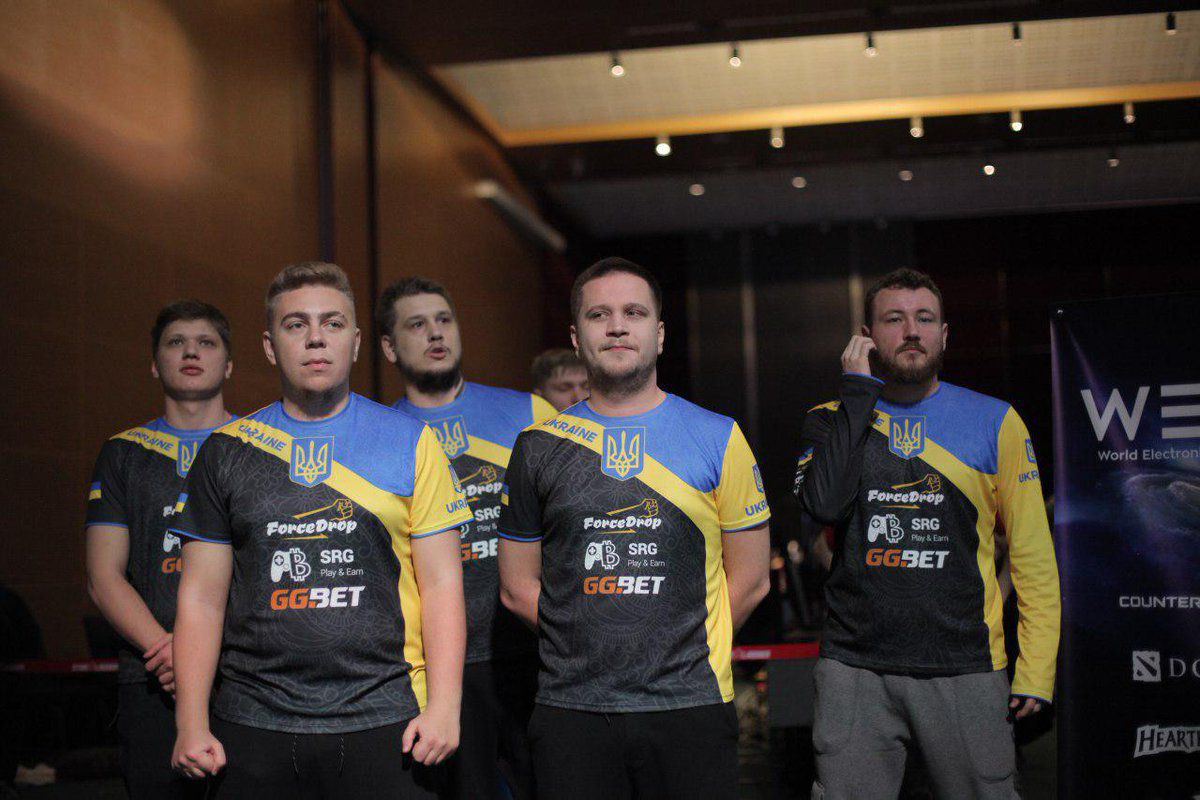 Photo of Team Ukraine take the top seed for the World Finals at WESG Europe