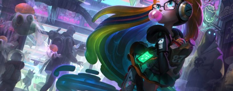 The new champion Zoe and her Abilities in League of Legends