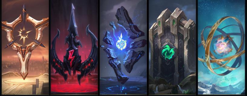 خمسة من طرق بناء الRunes من أجلك استعدادا للموسم القادم في League of Legends