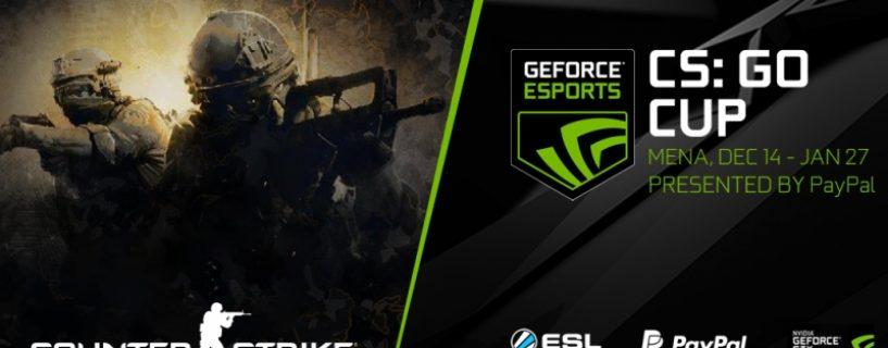 فريق عربي من الكويت يرفع كأس بطولة GeForce Cup الجديدة للعبة CS:GO