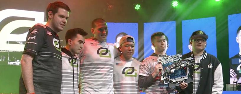 الإعلان عن الفائز بالحدث الجديد من البطولة الكبيرة Gears Pro Circuit للعبة Gears of War