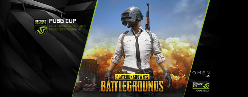 Nvidia ME Announces New PUBG GEFORCE CUP
