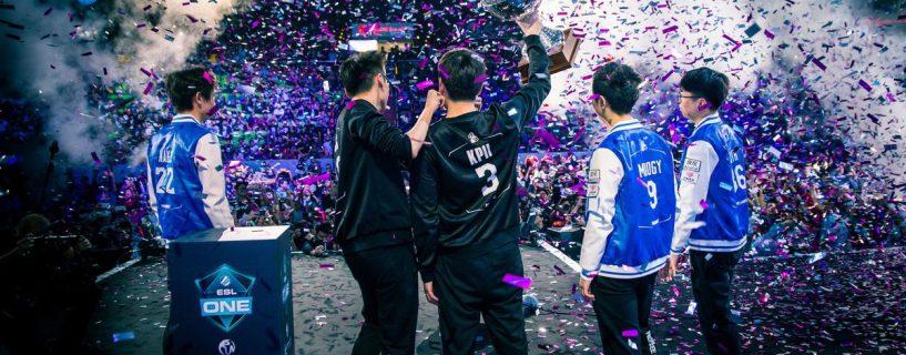 الصين تحمل كأس أولى بطولات Dota 2 الضخمة لهذا العام ESL One Genting