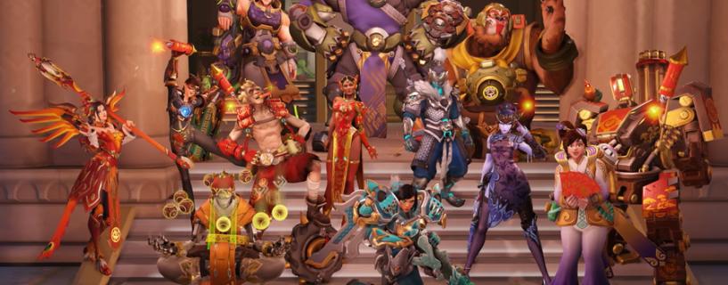 """إليكم كافة الأزياء الجديدة لحدث """"سنة الكلب"""" للعبة أوفرواتش"""