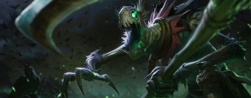 التحديث Patch 8.4 يجلب بعض التغييرات المثيرة للبطل Fiddlesticks في League of Legends