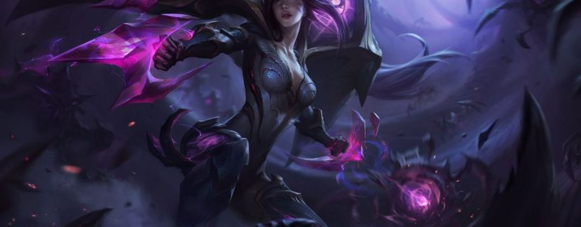The newest champion Kai'Sa with amazing mixed abilities on the way to League of Legends