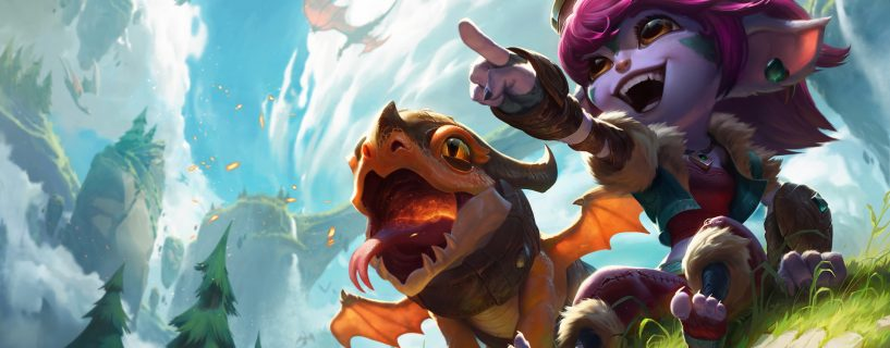 Little changes for Tristana kit with Patch 8.5 in League of Legends