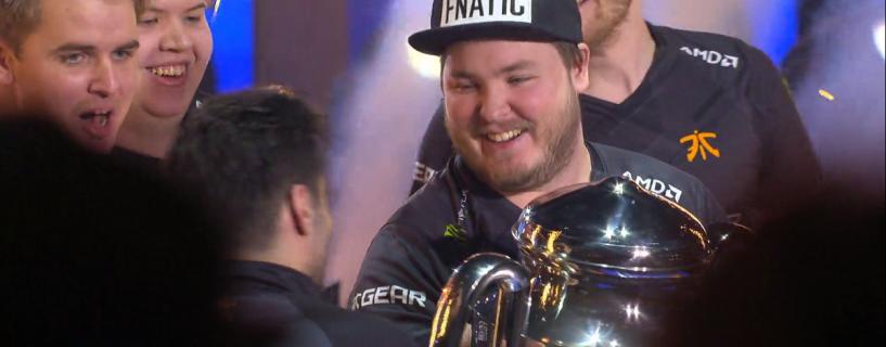 عودة Fnatic إلى بقعة الضوء بعد أعوام مع فوز مبهر في بطولة IEM World Championship للعبة CS: GO