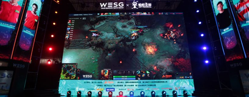 The schedule for the second group stage from DOTA 2 WESG 2017 grand finals