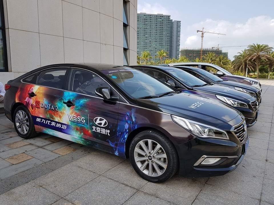 Photo of إستعراض السيّارات الرسميّة لحدث WESG 2017 للرياضات الإلكترونيّة