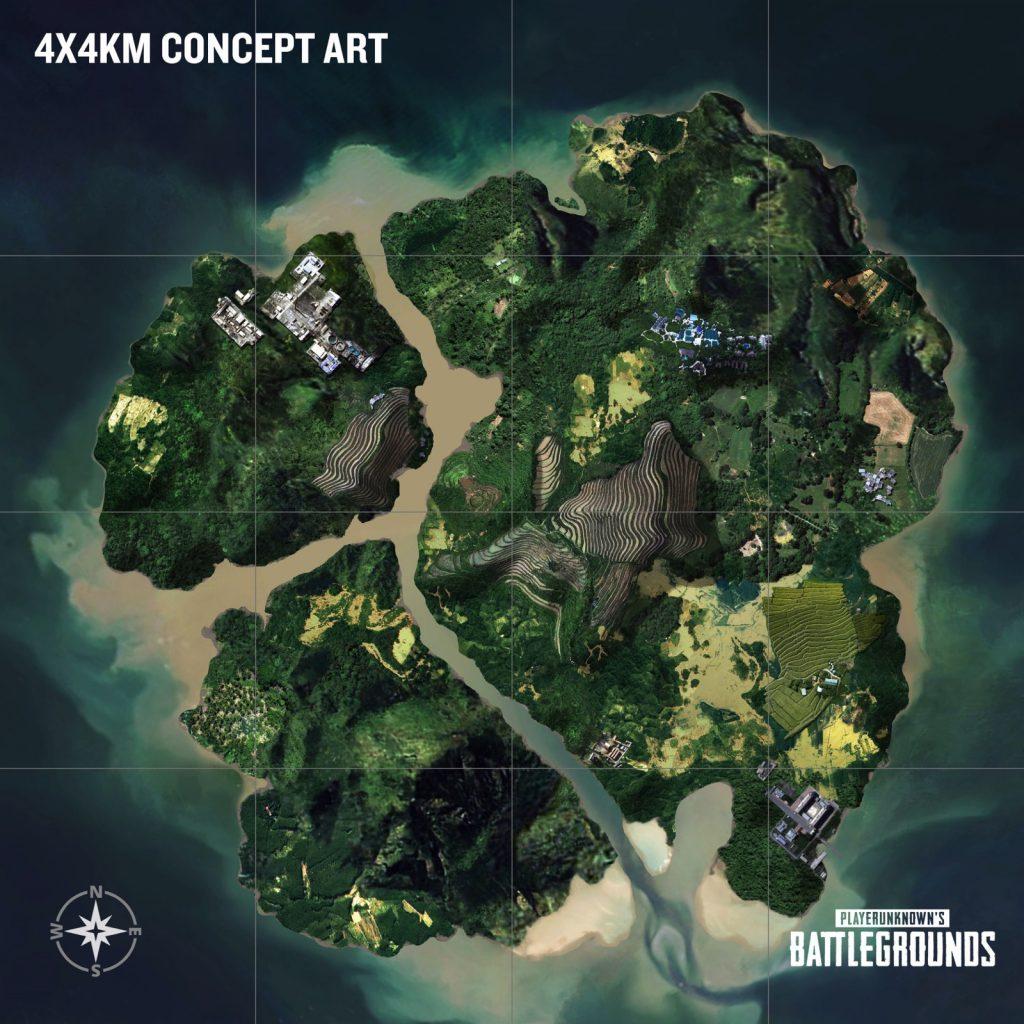pubg new jungle map