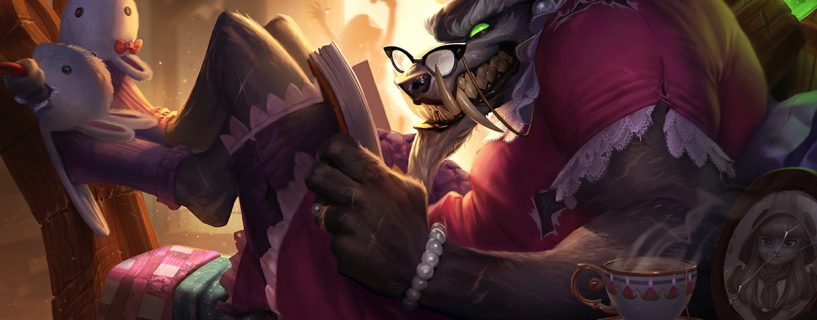 The first hit to Warwick after a year of his rework with upcoming patch 8.9
