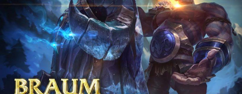 البطل Braum في طريقه إلى تغيير القوى في League of Legends مع التحديث Patch 8.8