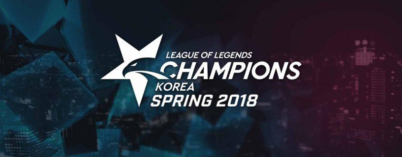 أداء رائع لفريق KINGZONE DragonX في نهائيات الدوري الكوري 2018 LCK Spring Split