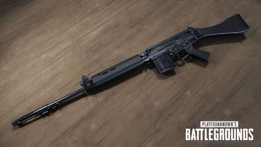 SLR PUBG new weapon update 12 pc playerunknown's battlegrounds
