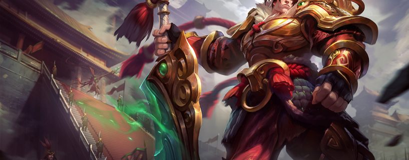 Amazing changes for Garen in League of Legends with upcoming patch 8.9