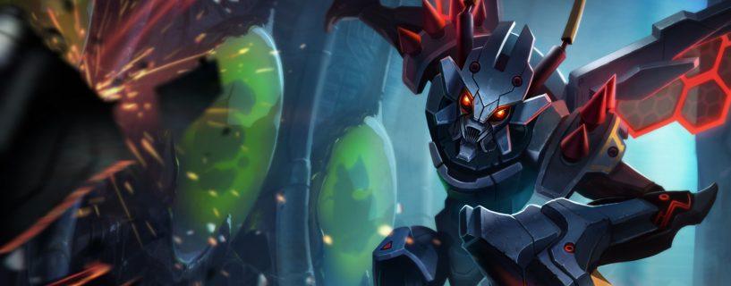 البطل Kha'Zix's في طريقه للحصول على قدرة نهائية جديدة Ultimate في League of Legends