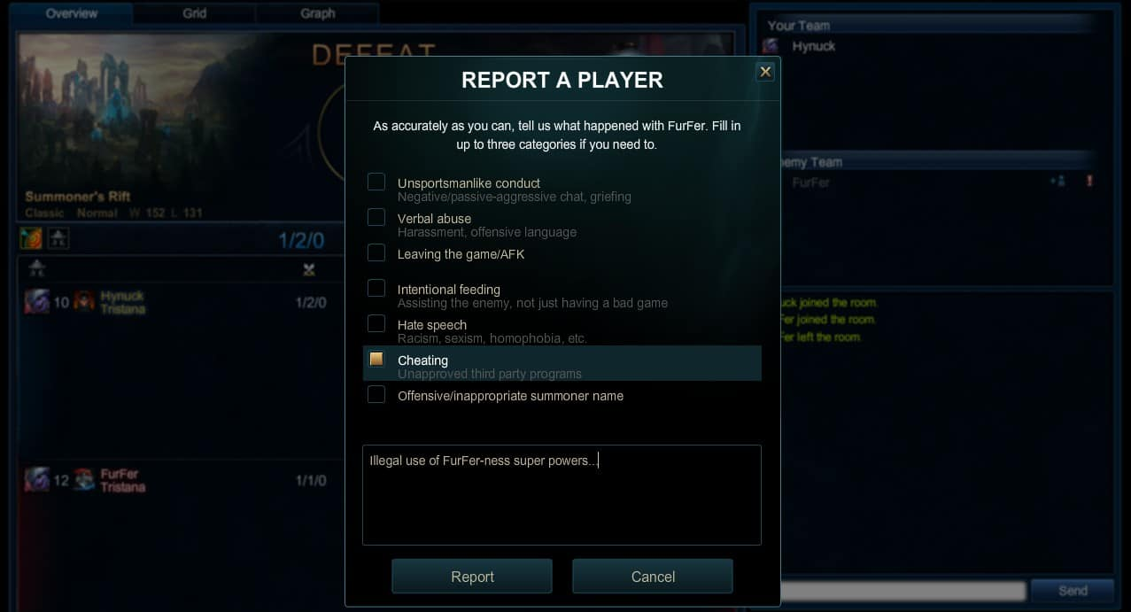 Photo of New Feature is available now in League of Legends Reports System