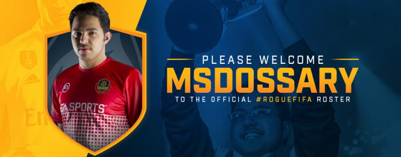 """بطل FIFA السعودي مساعد """"MSDossary"""" الدوسري ينضم لأحد أبرز منظمات الرياضات الإلكترونية"""