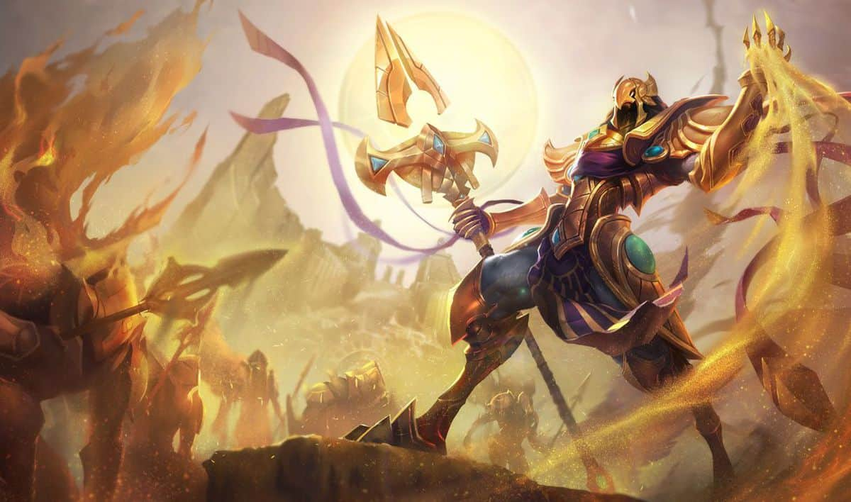 Photo of Big hit for Azir in League of Legends with upcoming patch 8.10