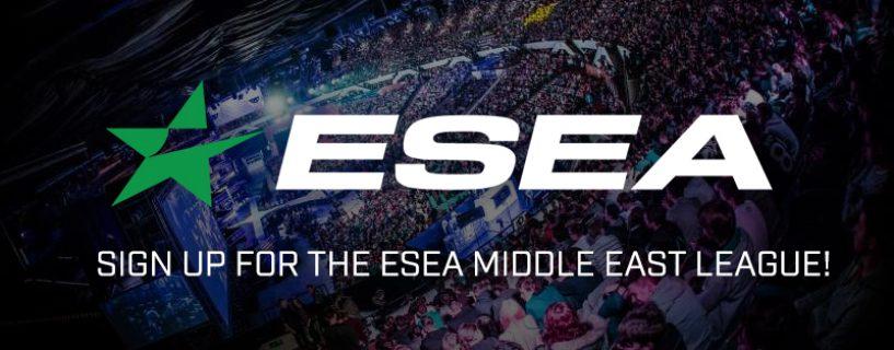 Sign up now for ESEA CS:GO Middle East League!