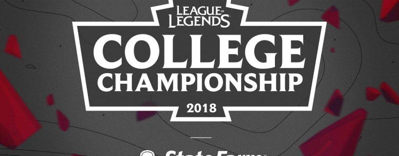 كل ما نعرفه عن منافسات بطولة الجامعات College Championship 2018 في League of Legends